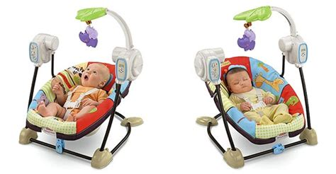 fisher price luv u zoo swing and seat com fisher price space saver swing and seat luv