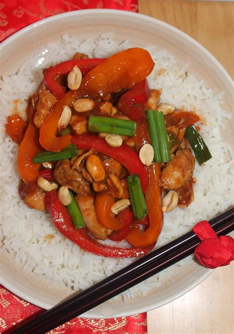 Kung Pao Chicken Lve savory moments kung pao chicken