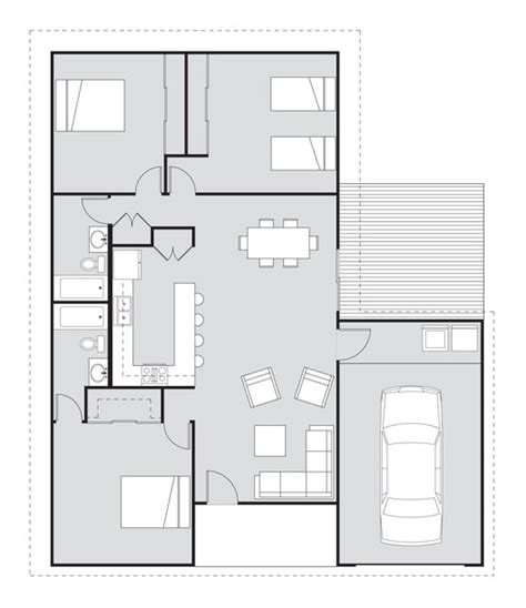 habitat for humanity house plans habitat for humanity adopts student house design archdaily