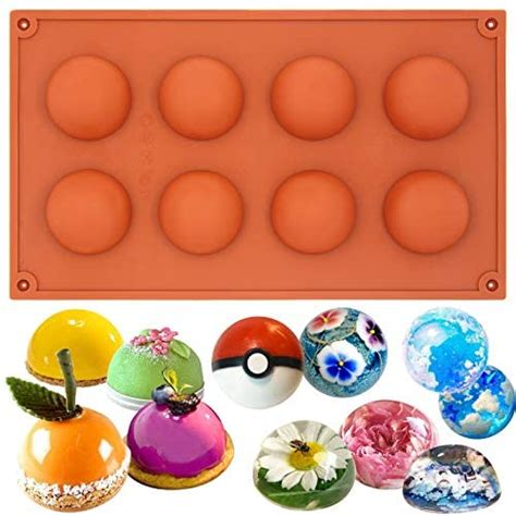 funshowcase mini semi sphere   silicone mold
