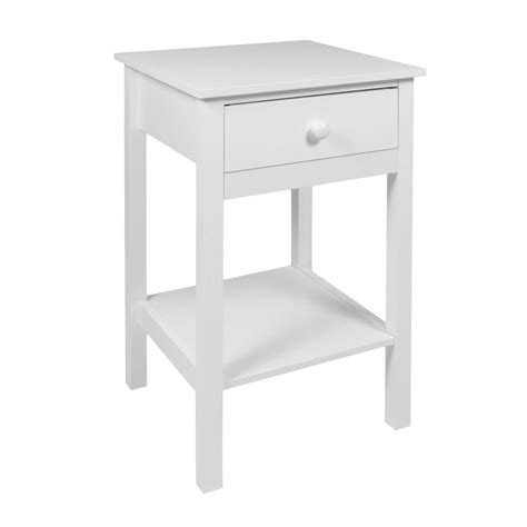 Bedside Table With Storage Furniture Woodluv Drawer Wooden Bedside Cabi Table