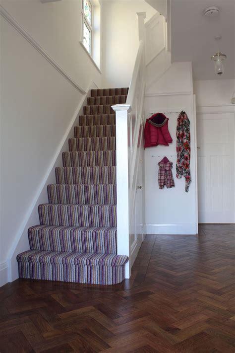carpet for hallways and stairs 1930s hallway stairs karndean parquet floor crucial