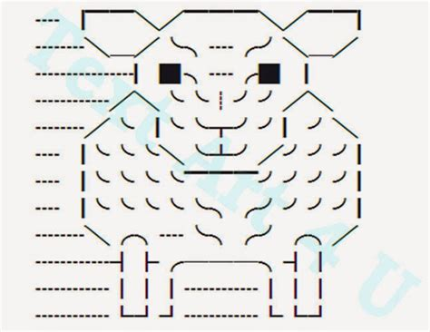 S Drawing Text by Sheep Unicode Text Copy Paste Code Cool Ascii Text