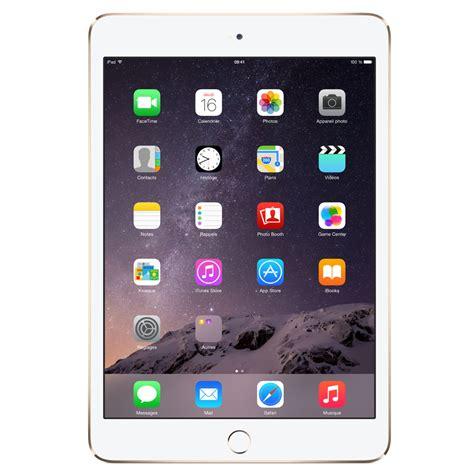 Tablet Apple 1 Jutaan apple mini 3 avec 233 cran retina wi fi 128 go or tablette tactile apple sur ldlc