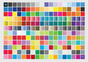 color chart vector graphics freevector