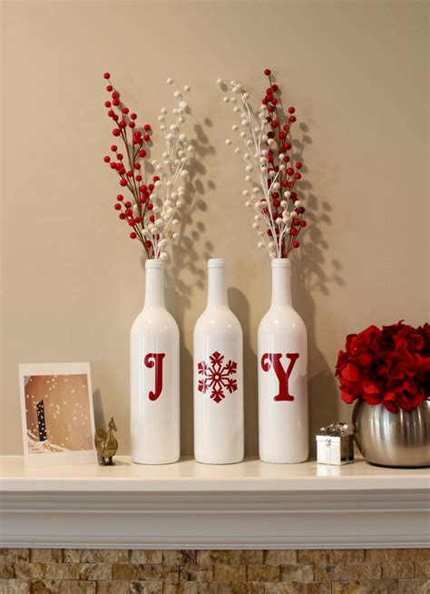 1000 ideas about christmas wine bottles on pinterest