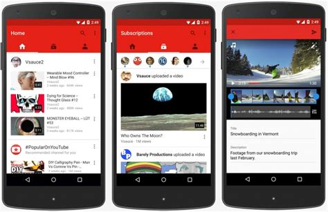 youtube moblie youtube updates official app as half of its traffic now