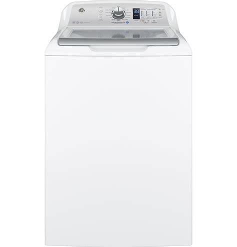 ge appliances gtw680bsjws 4 6 cu ft top load washer