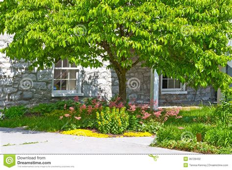 inviting home inviting home landscape stock photography image 36728432