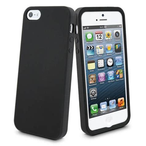 funda silicona iphone 5 funda silicona negra para iphone5 pccomponentes