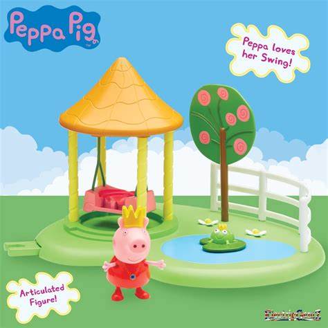 peppa pig swing peppa pig princess peppa s garden swing