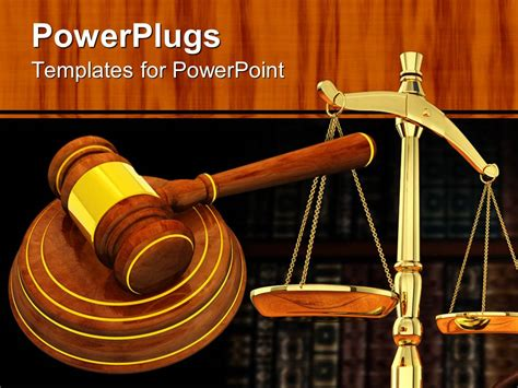 law templates for powerpoint free download powerpoint template a judges wooden gravel and a justice