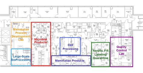 facility floor plan facility floor plan facility waisman biomanufacturing