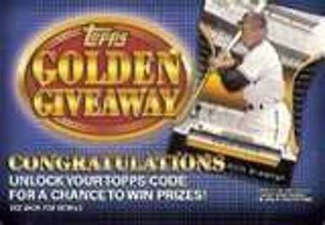 Listia Giveaway - free topps golden giveaway redemption code sports trading cards listia com