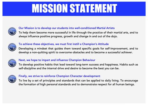 mission statement template the gallery for gt mission statement exles for restaurants