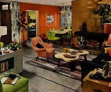 trends in interior design from 1950s to 2014