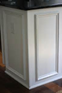 Kitchen Cabinet Trim Moulding My Kitchen Before And After Two Delighted