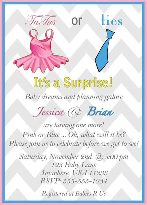 Baby Shower Gender Neutral Invitations by Gender Neutral Baby Shower Invitation Digital File By