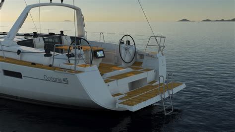 45 Feet To Meters yachtcharter oceanis 45 skiathos