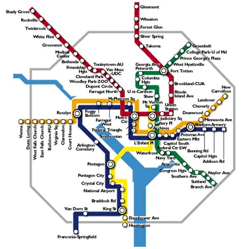 washington dc tourist map with metro stops washington metro map travelsfinders