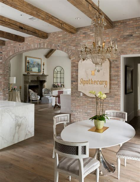 wilding shabby chic style dining room houston by