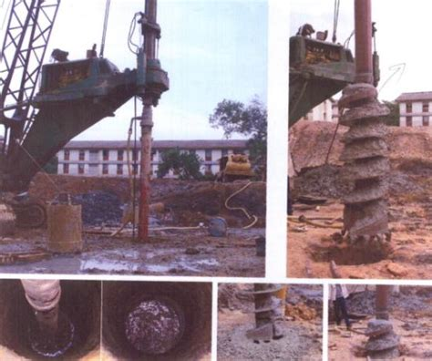 Bor Pile ism foundation specialist bored pile indonesia best bored pile foundation work construction