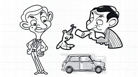 coloring pages mr bean car coloring mr bean coloring pages
