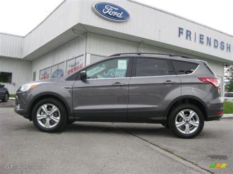 ford escape grey 2013 sterling gray metallic ford escape se 1 6l ecoboost