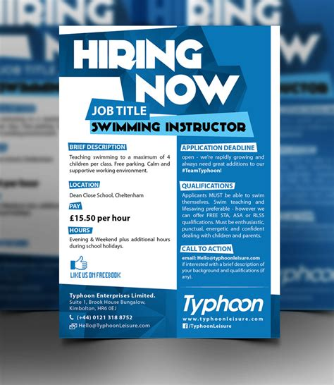 Design Contest Jobs   entry 81 by rafaislam for design a job advert poster