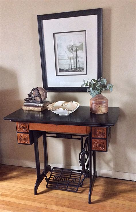 Repurposing Kitchen Cabinets hometalk suggestions for antique sewing machine makeover