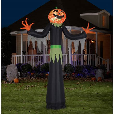 gemmy airblown inflatable 6 x 4 ghost trio halloween