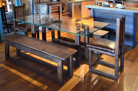 industrial dining table and chairs industrial dining table set abodeacious