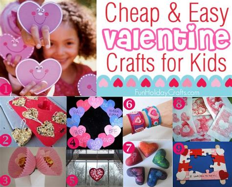 easy cheap valentines ideas cheap and easy crafts for