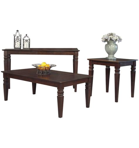 36 inch java square coffee tables simply woods