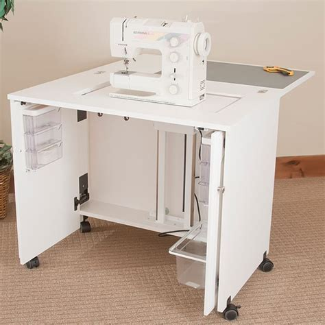 Sewing Cabinet by Sewingrite Sewing Machine Space Saver Sewing Storage