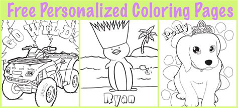 personalized coloring pages jacb me