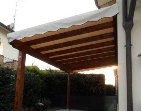 tenda pergola pergole con copertura in tenda amalegno