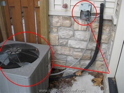ac condenser disconnect ac disconnect grounding