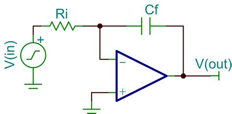 integrator circuit capacitor capacitor how is a varactor diode used in a circuit when it only has 2 terminals electrical