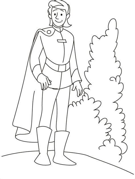 prince charming coloring pages coloring home