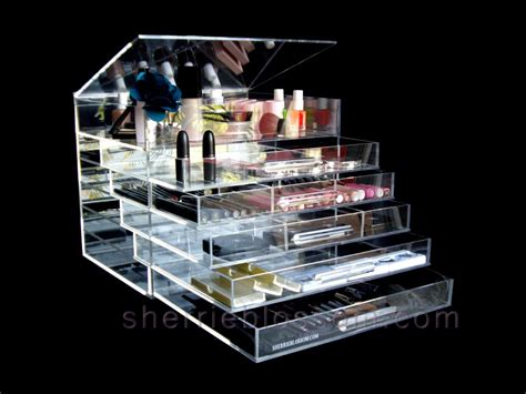 Acrylic Makeup Organizer With Drawers Kardashians by Icebox By Sherrieblossom Voted Best Design