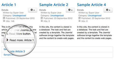tutorial articles joomla featured articles detailed tutorial