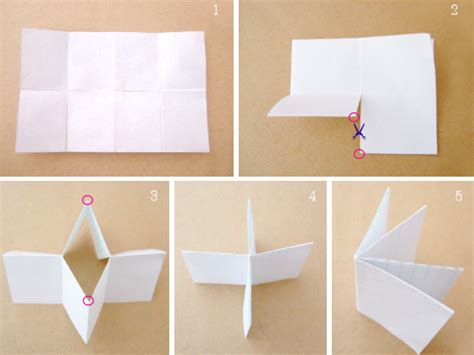 Paper Booklet Folding - how to bind papers without staples or 3 bloomize