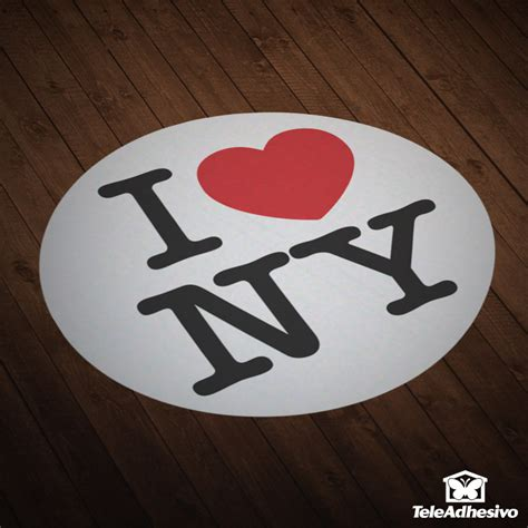 imagenes de i love new york pegatina de i love new york