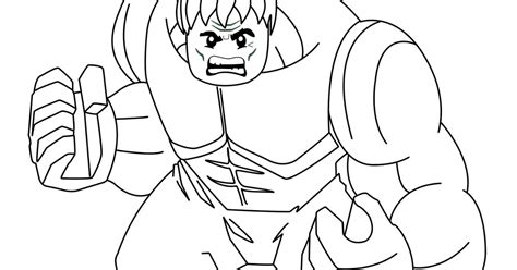 coloring pages of lego hulk marvel super heroes coloring pages