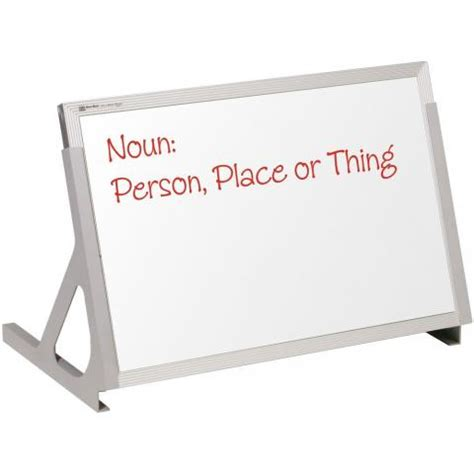mini whiteboard for desk magnetic desktop dry erase board learner supply