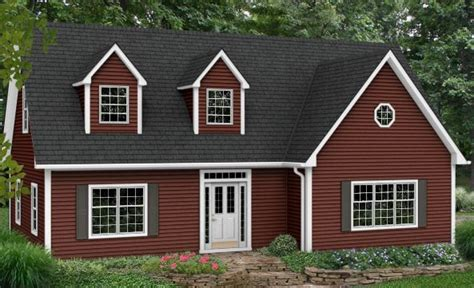 red siding houses houses with red siding cape cod gray for the home pinterest
