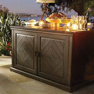 Outdoor Serving Buffet Table Marsala Buffet Contemporary Patio Furniture And