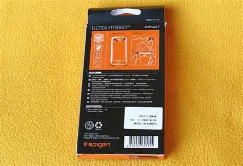 Bumper Spigen For Iphone by Spigen Ultra Hybrid Bumper For Iphone 7 Techkoalas