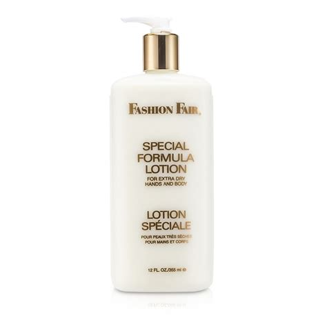 fashion fair special formula lotion for extra dry hands